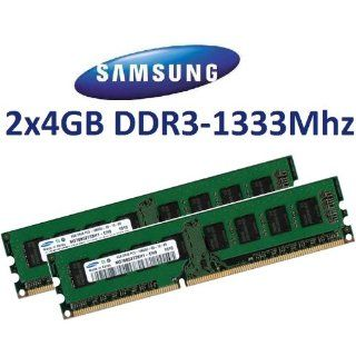 8GB Dual Channel Kit SAMSUNG Original 2 x 4 GB 240 pin