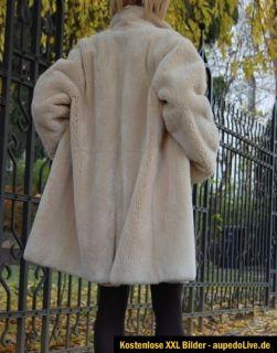 YVES SAINT LAURENT YSL Neu New Pelzmantel Pelz Fur 38   42 geschoren