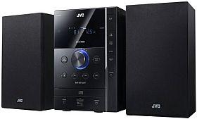 JVC UX G 375 E Kompaktanlage (FM Tuner, 60 Watt, USB 2.0) schwarz