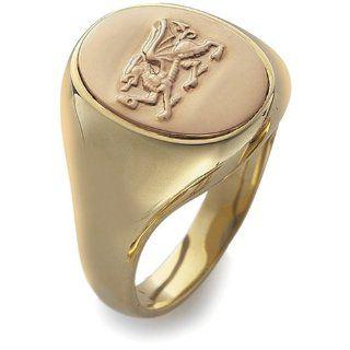 Clogau Gold Herren Ring 9 Karat (375) Bicolor OSRD 69 (22.0)