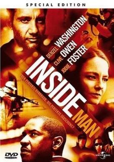 Inside Man   Special Edition (Denzel Washington)  DVD  440