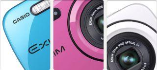 Casio Exilim EX N1 Digitalkamera 2,7 Zoll Peppermint