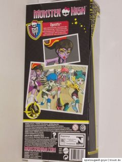 Monster High * Frankie Abbey Bominable Lagoona Operetta Clawdeen * NEU