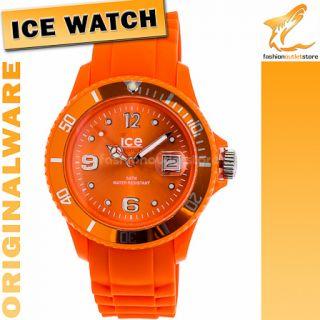19 ORIGINAL ICE WATCH SI OE U S 09 Sili Armbanduhr Uhr Damen Orange