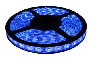 Aquarium 440 Actinic BLUE Moon Light LED Strip 100 Lumens/Ft Salt