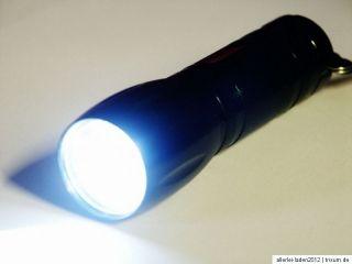 200 Lumen CREE Xenon SMD LED Taschenlampe / metallic schwarz