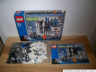 Lego City, 7035, World City, Polizeistation, Komplett, mit OVP, OBA