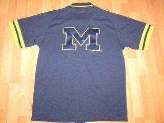 Michigan State Throwback Trikot Jersey Shirt NCAA NIKE Blau Gelb Gr. M