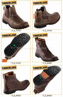 TIMBERLAND Herren Schuhe Stiefel Stivali Boots Leder Stiefeletten