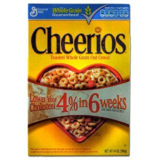 General Mills Cheerios, 1er Pack (1 x 396 g Packung)