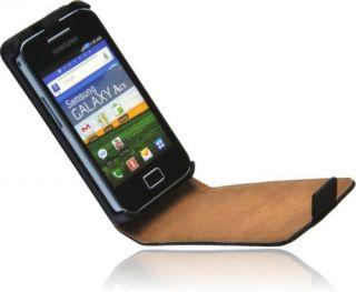 Premium Handy Tasche für Samsung Galaxy ACE S5830 Flip Case Schutz