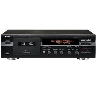 Yamaha KX 393 Kassettendeck schwarz Heimkino, TV & Video