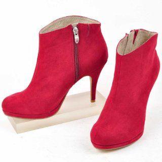 pumps pink high heels wildleder blume beige plateau neu. Black Bedroom Furniture Sets. Home Design Ideas