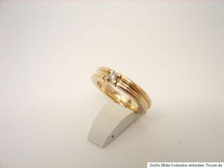 Brillant Ring 585er 14kt Gold Goldschmuck Schmuck Gelbgold TOP