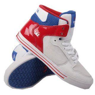 Supra Vaider Red White Blue All Stars Schuhe & Handtaschen