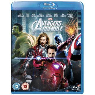 Marvel Avengers Assemble BLU RAY [VHS] Robert Downey Jr., Chris Evans