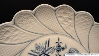 Wunderschöner Meissen Zwiebelmuster Gebäckteller Jubiläumsedition