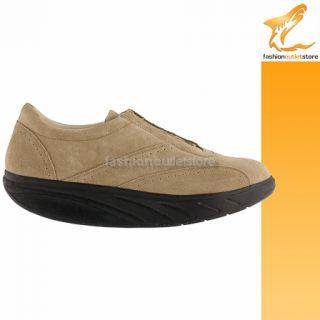 MBT Sahara Braun Olive Herren Schuhe Swiss Masai shoes scarpe men uomo