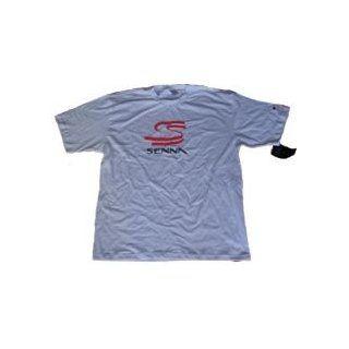 Ayrton Senna T Shirt Sport & Freizeit