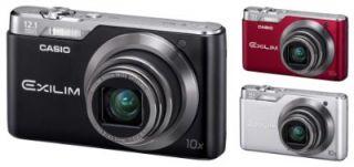 Casio Exilim EX H5 Digitalkamera (12 Megapixel, 10 fach opt. Zoom, 6,9