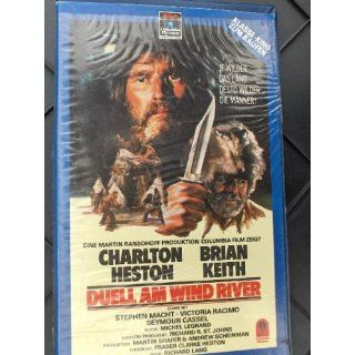 Duell am Wind River Charlton Heston, Brian Keith, Stephen Macht