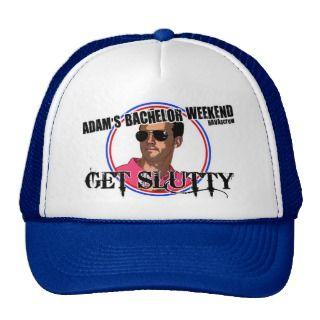 Adam Bachelor Party Hat