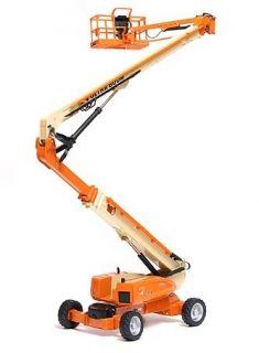 JLG Series 1 Articulating Ultra Boom Lift 132 Scale Orange/ Yellow