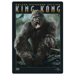 King Kong Deluxe Extended Edition, 3 DVDs im Steelbook Limited Deluxe