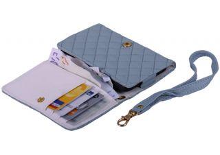 Portmonee Portemonnaie Leder Tasche Hülle Geldbörse Wallet Case #472