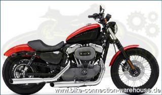Packtaschenbügel Chrom Harley Sportster Custom Roadster Superlow