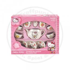 Hello Kitty Kaffeeservice fuer 4 Kinder Service Porzellan Geschirr Set