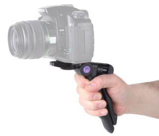Mini Stativ für Kameras & Blitzgeräte mit Griff