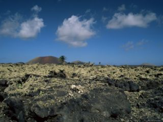 Volcanic Landscape, Lanzarote, Canary Islands, Spain Photographic Print by Jean Brooks
