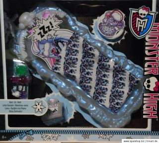 Monster High Y2867 Abbey Bominable Bett Eisbett