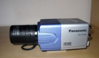 Used Panasonic WV CP484 SDIII Wide Dynamic CCTV Security Camera w