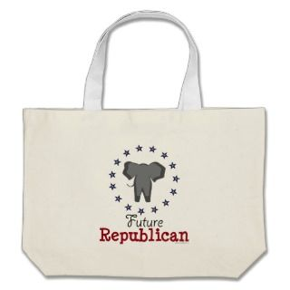 Future Republican Elephant Tote Bag