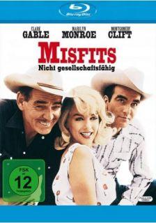Misfits   Nicht gesellschaftsfähig   (Marilyn Monroe)   BLU RAY NEU