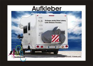 Wohnmobil Aufkleber Sprüche Artikel Im Folien Design24 Shop Bei