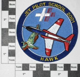 Abzeichen , Patch Swiss Air Force / Jet Pilot School