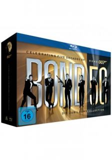 James Bond   Bond 50 Collection   23 BLU RAY BOX NEU OVP