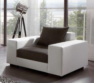 Big Sofa Exclusiv mit Hocker Federkern alle Maße möglich XXL Mega
