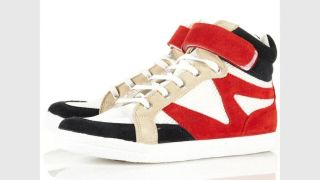 Topshop ASOS Sneaker Rot Beige Schwarz Weiß Turnschuhe Swag Urban