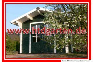 Holzhaus Tero 2x2,40m 34mm Blockbohlenhaus Blockhaus Gartenhaus