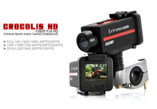 Full HD 1080P Extreme Sports Action Waterproof Camera *** Crocolis HD