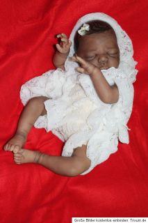Reborn Baby Ethnik Elaine sculpt Sabine Altenkirch Hairpainting LE
