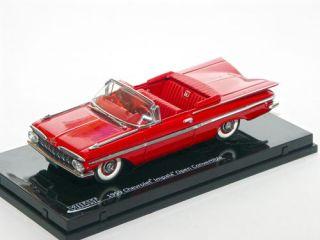 Vitesse 36226   Chevrolet Impala Open Convertible, rot, 1959, 143