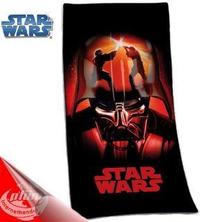 STAR WARS Darth Vader Handtuch Velourstuch Badetuch Strandtuch 75 x