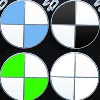 Emblem Aufkleber BMW Logo 518 520 523 525 530 535 Ecken