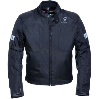 BLACK SPORTS WATERPROOF MOTORBIKE SCOOTER BIKE MOTORCYCLE JACKET GHOST