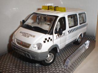 GAZ 22171 Gazelle SOBOL Russian Taxi Bus Metal Diecast Model 1/50